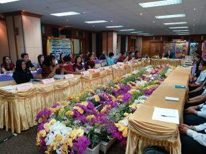 สำนักงานอธิการบดี มหาวิทยาลัยราชภัฏบุรีรัมย์ เข้ารับการประเมินประกันคุณภาพการศึกษาภายใน ประจำปีการศึกษา 2560